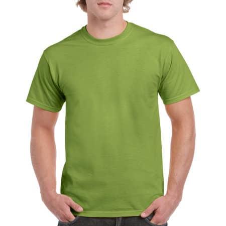 Heavy Cotton™ T- Shirt in Kiwi von Gildan (Artnum: G5000