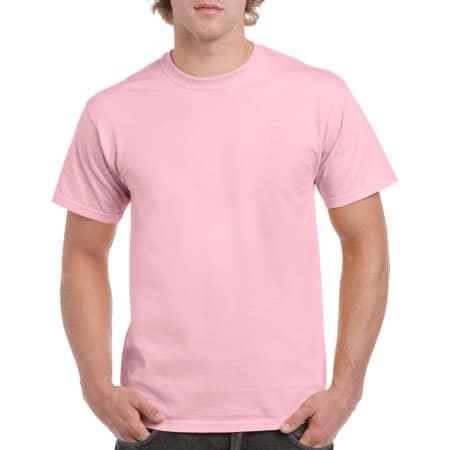 Heavy Cotton™ T- Shirt in Light Pink von Gildan (Artnum: G5000