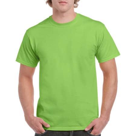 Heavy Cotton™ T- Shirt in Lime von Gildan (Artnum: G5000