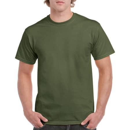 Heavy Cotton™ T- Shirt in Military Green von Gildan (Artnum: G5000