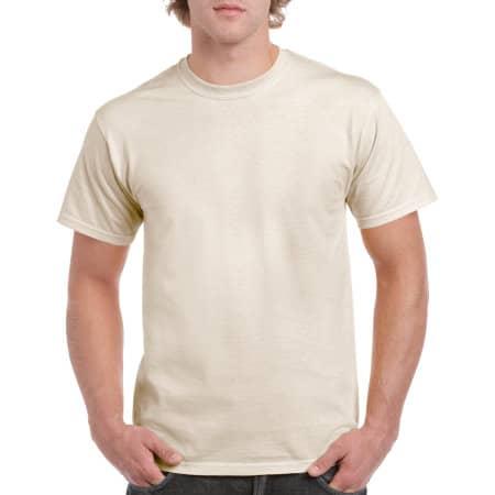 Heavy Cotton™ T- Shirt in Natural von Gildan (Artnum: G5000