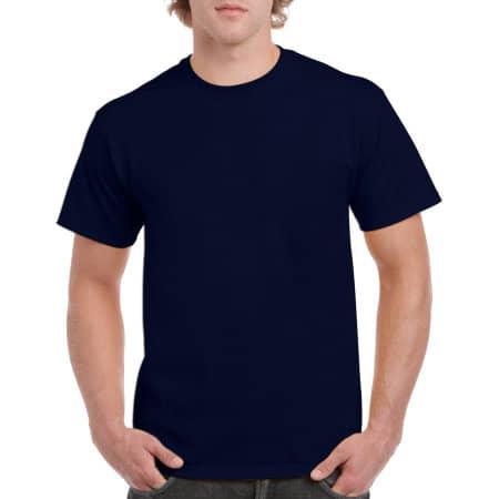 Heavy Cotton™ T- Shirt in Navy von Gildan (Artnum: G5000