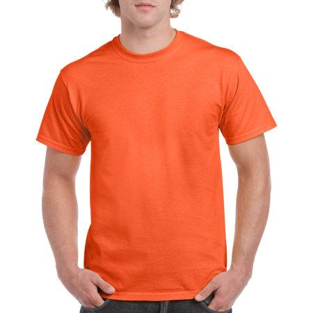 Heavy Cotton™ T- Shirt in Orange von Gildan (Artnum: G5000