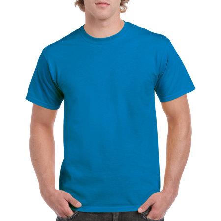 Heavy Cotton™ T- Shirt in Sapphire von Gildan (Artnum: G5000