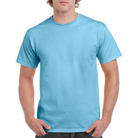 Heavy Cotton™ T- Shirt in Sky von Gildan (Artnum: G5000
