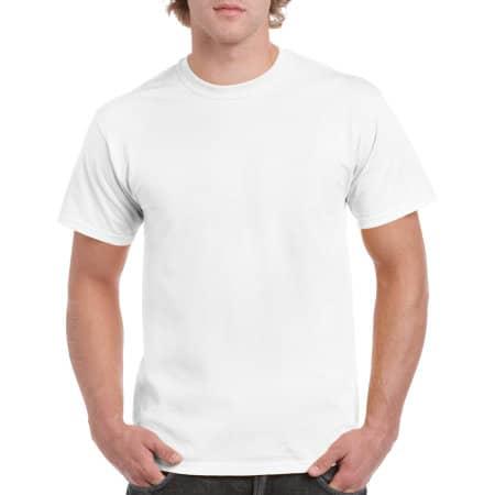 Heavy Cotton™ T- Shirt in White von Gildan (Artnum: G5000