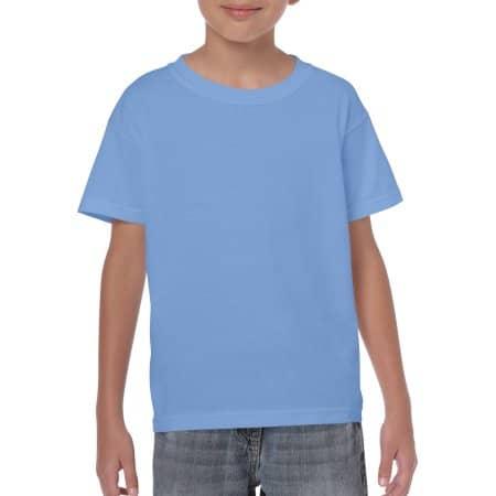 Heavy Cotton™ Youth T- Shirt in Carolina Blue von Gildan (Artnum: G5000K