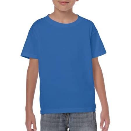 Heavy Cotton™ Youth T- Shirt in Royal von Gildan (Artnum: G5000K