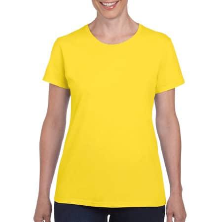 Heavy Cotton™ Ladies` T-Shirt in Daisy von Gildan (Artnum: G5000L