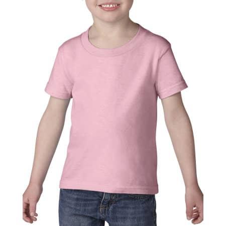 Heavy Cotton™ Toddler T-Shirt in Light Pink von Gildan (Artnum: G5100P