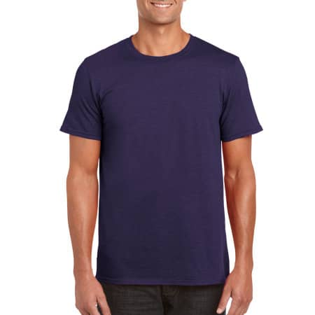 Softstyle® T- Shirt in Blackberry (Heather) von Gildan (Artnum: G64000