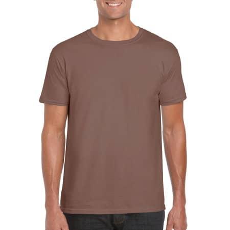 Softstyle® T- Shirt in Chestnut von Gildan (Artnum: G64000