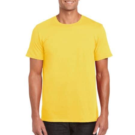 Softstyle® T- Shirt in Daisy von Gildan (Artnum: G64000