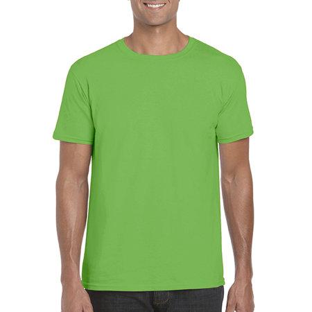 Softstyle® T- Shirt in Electric Green von Gildan (Artnum: G64000
