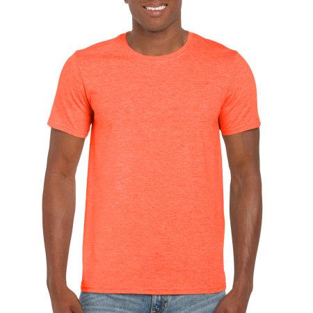 Softstyle® T- Shirt in Heather Orange von Gildan (Artnum: G64000