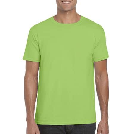 Softstyle® T- Shirt in Lime von Gildan (Artnum: G64000