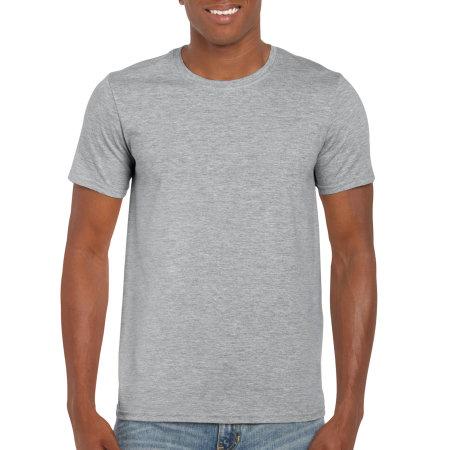 Softstyle® T- Shirt in Sport Grey (Heather) von Gildan (Artnum: G64000