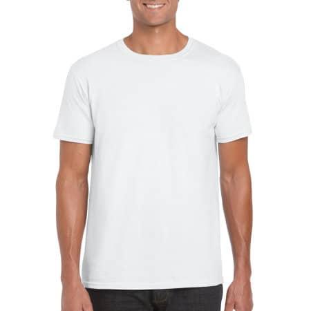 Softstyle® T- Shirt in White von Gildan (Artnum: G64000