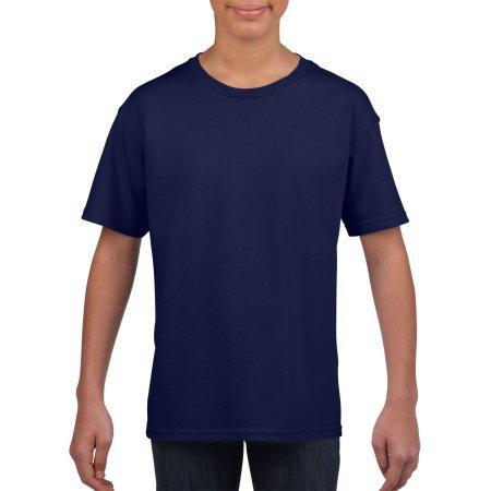 Softstyle® Youth T-Shirt in Cobalt von Gildan (Artnum: G64000K