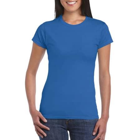 Softstyle® Ladies` T- Shirt in Royal von Gildan (Artnum: G64000L
