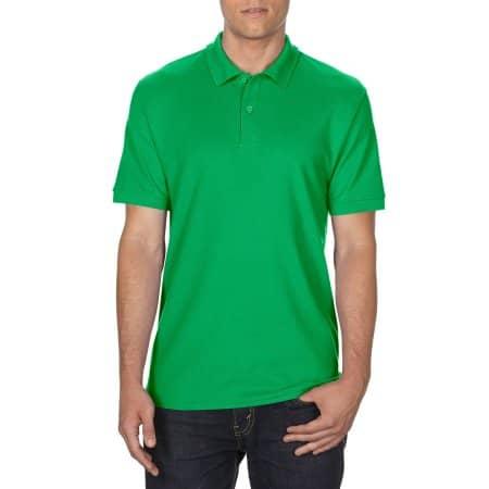 DryBlend® Double Piqué Polo in Irish Green von Gildan (Artnum: G75800