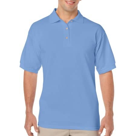 DryBlend® Jersey Polo in Carolina Blue von Gildan (Artnum: G8800