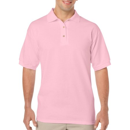 DryBlend® Jersey Polo in Light Pink von Gildan (Artnum: G8800