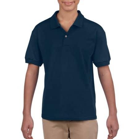 DryBlend® Youth Jersey Polo von Gildan (Artnum: G8800K