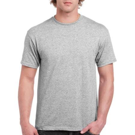 Hammer Adult T-Shirt in Sport Grey (Heather) von Gildan (Artnum: GH000