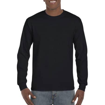 Hammer Adult Long Sleeve T-Shirt in Black von Gildan (Artnum: GH400