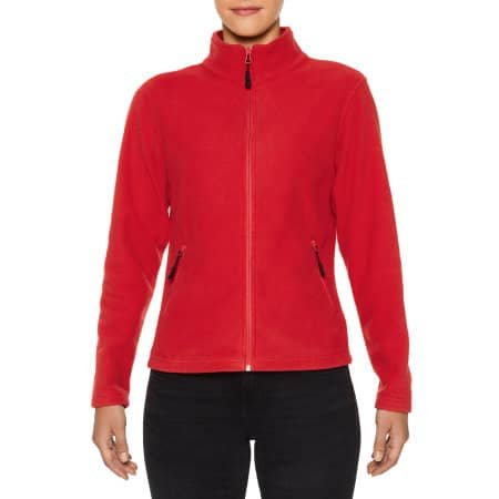 Hammer Ladies Micro-Fleece Jacket von Gildan (Artnum: GPF800L
