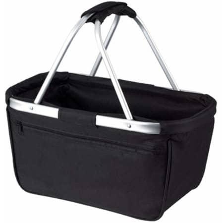 Shopper Basket in Black von Halfar (Artnum: HF3939
