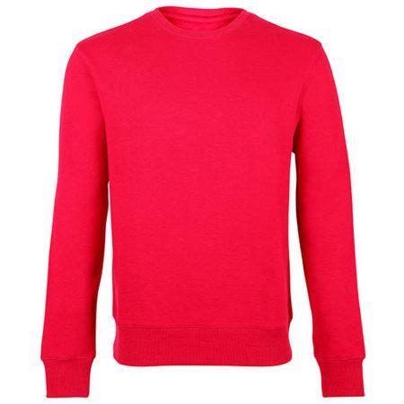 Unisex Sweatshirt in Red von HRM (Artnum: HRM902