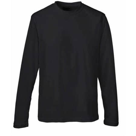 Long Sleeve Cool T in Jet Black von Just Cool (Artnum: JC002