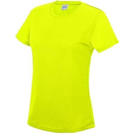 Girlie Cool T in Electric Yellow von Just Cool (Artnum: JC005