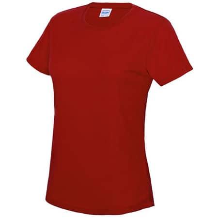 Girlie Cool T in Fire Red von Just Cool (Artnum: JC005