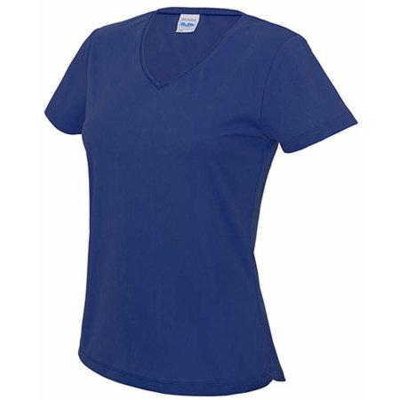 V Neck Girlie Cool T in Royal Blue von Just Cool (Artnum: JC006