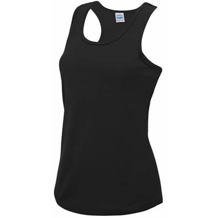 Girlie Cool Vest in Jet Black von Just Cool (Artnum: JC015