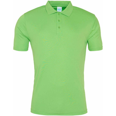 Cool Smooth Polo in Lime Green von Just Cool (Artnum: JC021