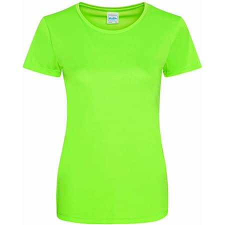 Girlie Cool Smooth T in Electric Green von Just Cool (Artnum: JC025
