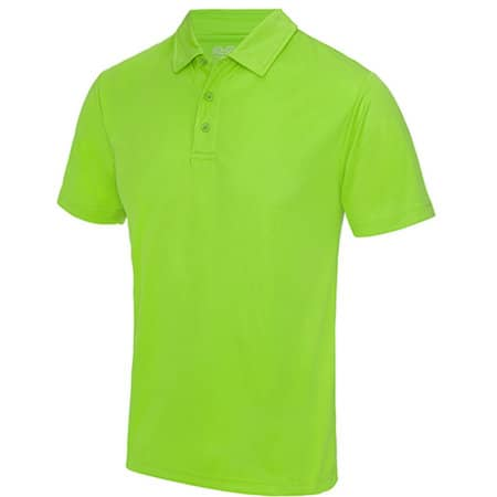 Cool Polo in Electric Green von Just Cool (Artnum: JC040
