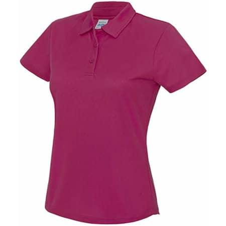 Girlie Cool Polo in Hot Pink von Just Cool (Artnum: JC045