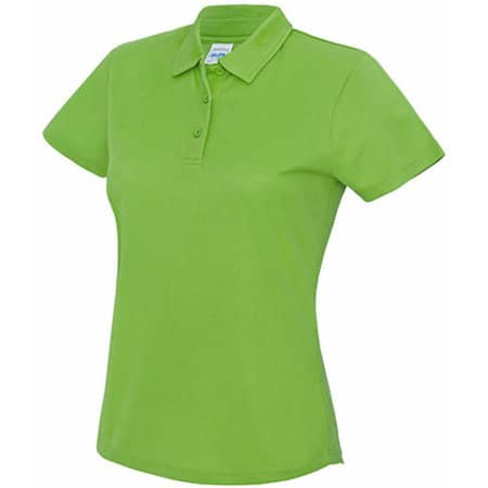 Girlie Cool Polo in Lime Green von Just Cool (Artnum: JC045
