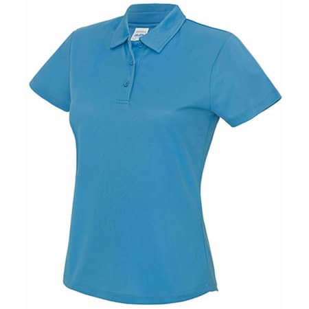 Girlie Cool Polo in Sapphire Blue von Just Cool (Artnum: JC045
