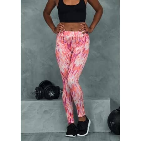 Girlie Cool Printed Legging von Just Cool (Artnum: JC077