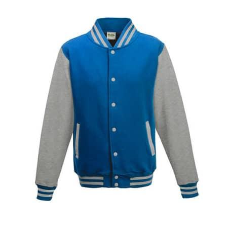 Varsity Jacket von Just Hoods (Artnum: JH043