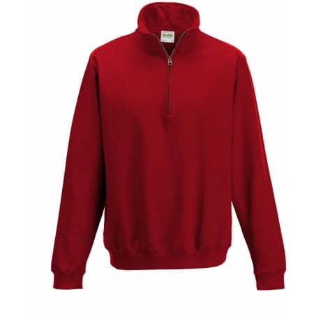 Sophomore 1/4 Zip Sweat von Just Hoods (Artnum: JH046