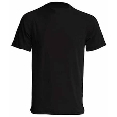 Sport T-Shirt Men in Black von JHK (Artnum: JHK100