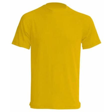 Sport T-Shirt Men in Gold von JHK (Artnum: JHK100