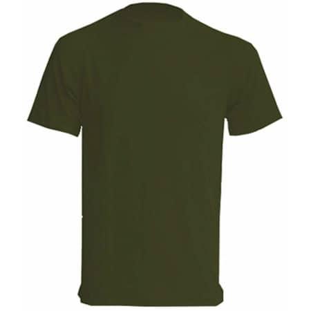 Sport T-Shirt Men in Khaki von JHK (Artnum: JHK100